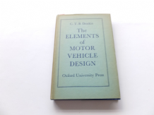 Elements of Motor Vehicle Design : The (Donkin 1951)